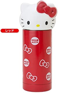 Hello Kitty Stainless Thermos Mug Bottle Red