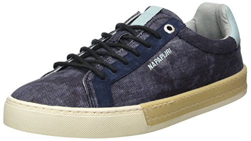 Napapijri Footwear Herren Plus Sneaker, Blau (Blue Marine), 41 EU