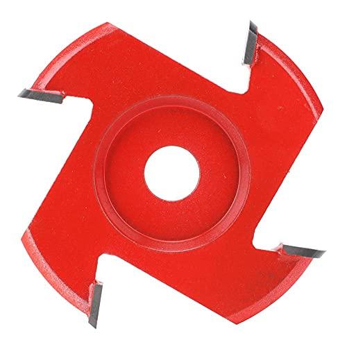 Hoja de cuatro esquinas, madera de corte de acero adecuado hecha de acero duro de tungsteno (rojo, azul)