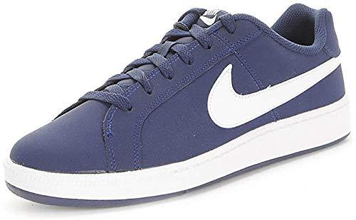 Nike Court Royale Nubuck, Scarpe da Tennis Uomo, Blu/Blu Navy Notte/Bianco, 42.5 EU