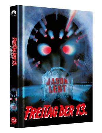 Freitag, der 13. - Teil 6 - JASON LEBT - Limited Uncut Mediabook - Blu-ray