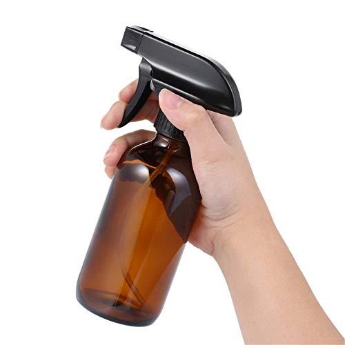 Botellas de Spray 8 oz botella de spray vidrio vacío niebla fina atomizador salón peluquería pulverizador flor herramienta de plantación de flores con 2 tapones de botella 2pcs para Aceite Esencial de