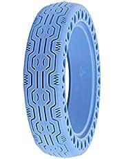 Vvciic Reemplazo de Neumáticos Sólidos Compatible con Scooter Eléctrico Xiaomi, Rueda de Neumático de Scooter Delantero/Trasero de 8,5 Pulgadas, Neumático de Panal de Scooter Eléctrico