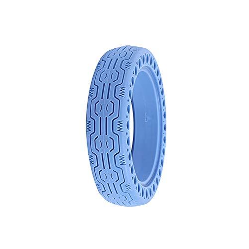 ALLOMN Elektrorollerreifen, 8,5 Zoll Elektroroller Honeycomb für Xiaomi Vorder/Hinterrad Ersatzreifen Luftloser Ersatzreifen Rutschfester Reifen für Pannenschutzräder (Blau)