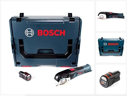 Bosch GUS 12V-300 Akku Universalschere 12V + 1x Akku 3,0Ah + L-Boxx - ohne Ladegerät