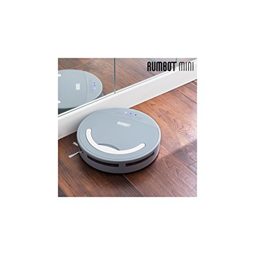 omnidomo-rumbot mini-robot intelligente Staubsauger, 360° Seitenbürsten, Batterie/Akku, Behälter 500ml, 100Min