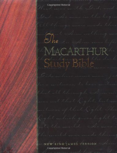 The Macarthur Study Bible ~ New King James Version (NKJV)