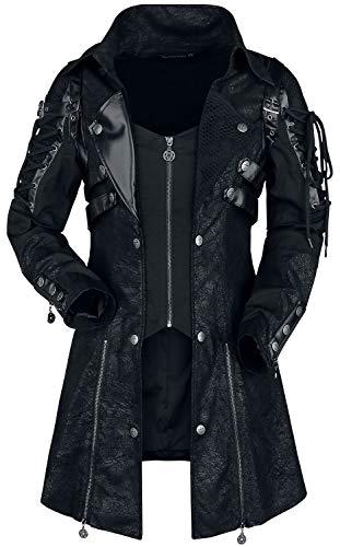 Gothicana by EMP Asherali Frauen Kurzmantel schwarz XL 100% Polyester Basics, Gothic