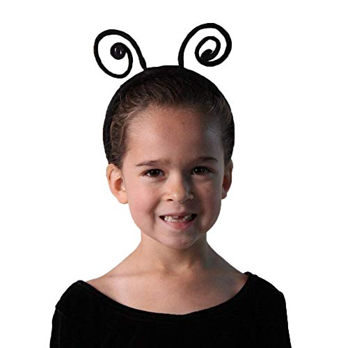 Kids Black Ladybug/Bee Headband Antennae