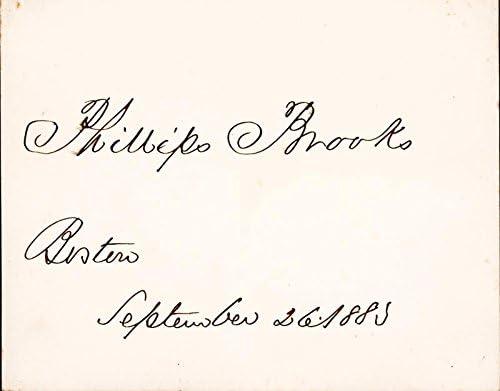 latest Phillips Brooks - Signature 26 Popular popular 1885 09