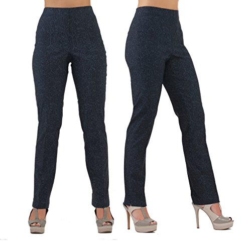 LIOR PARIS LIZE a Classic Fit Straight Pant for Everybody Spring Summer Colors (0, GRAF-Navy)