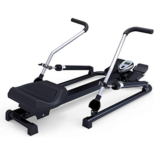 CHENNAO Rowing Machine with Free Motion Arms, Hydraulic Rowing Machine, Rowing Machine with LCD Display -Max Strength