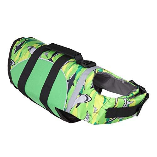 Qusin Dog Life Jacket, Ultra Light and Thin, Life Vest for Dogs, Dog Life Jacket Vest for Swimming and Boating, Multiple Styles, Adjustable Soft Dog Life Jacket