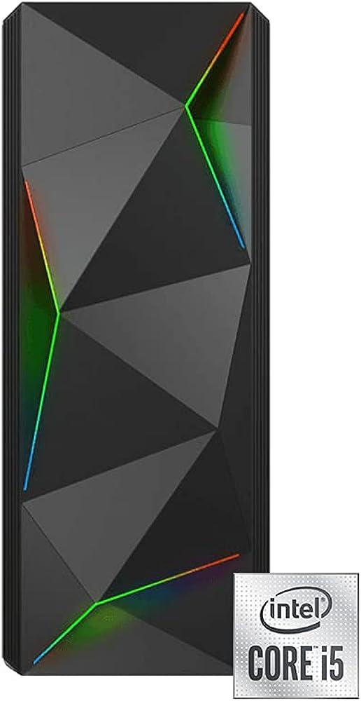 Inventive p500 - pc fisso intel i5 8 core ram 16 gb ddr4 ssd 500gb nvme windows 10 professional