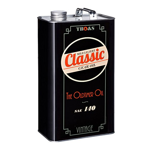 TBO&S Classic Gear Oil SAE 140 - Aceite para engranajes (5 L)