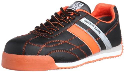 [ミドリ安全] 安全作業靴 JSAA認定 プロスニーカー WPC111 メンズ ブラック/オレンジ 30.0(30cm)