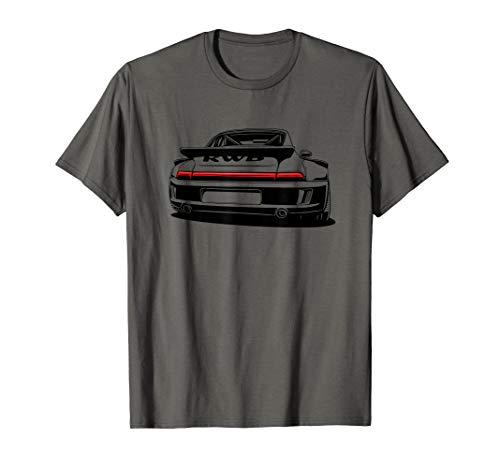 Automotive Retro German JDM Tuning Wear Rear End Auto T-Shirt