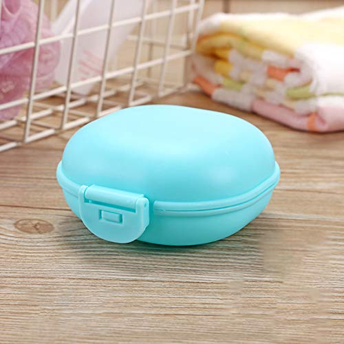 Soap Box Soap Case Soap Dish Soap Holder Soap Container With Lock Design With Lid Drain Waterproof Soap Box ,Travel Soap Box Container Holder Shower Bathroom For Gift Travel Camp Storage 5 Pieces