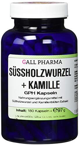 Gall Pharma Süßholzwurzel plus Kamille GPH Kapseln, 180 Kapseln