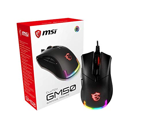 MSI Mouse USB Optical Gaming/Clutch GM50