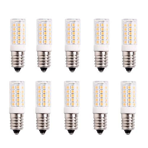 Standard-E14-LED-Birne, 4W (entspricht 40W-Halogenlampe), 400LM, AC 220-240V, kein Flimmern, 360 ° Abstrahlwinkel, 3000K warmweiß, Edison-Energiesparlampe, Zuhause / Geschäft, 10 Stück