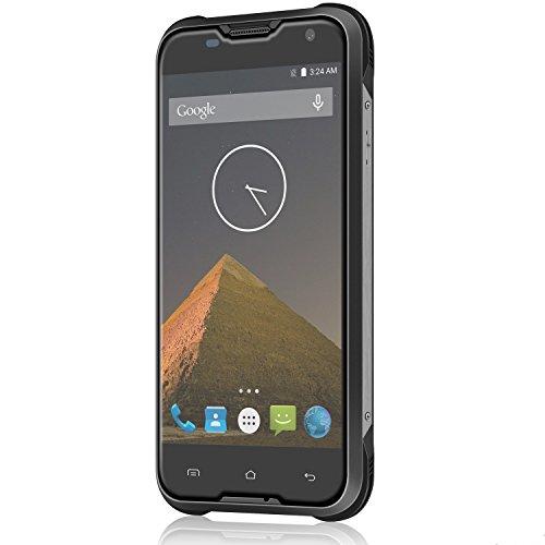 Bestore® Blackview BV5000 IP67 impermeabile 4G LTE dual-SIM Smartphone (da 5 pollici, Android 5.1, RAM 2GB ROM 16GB, 8,0 fotocamera megapixel, 4G Smartphone) Nero