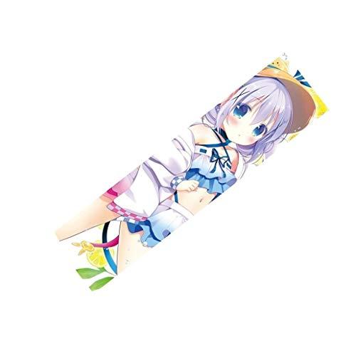 LaoSong Griptape Skateboard Short Board Grip Tape 33inch × 9inch Anime Nette orange-Girl-Serie DR97