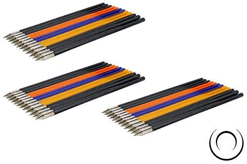 EMIYA Plastic Bolt Arrows for 50LB to 80LB Crossbow Pistols 36 Pack