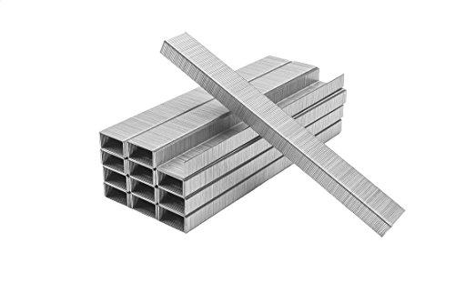 Premium Standard Staples, Full Strip, Size (26/6) Silver, 50000 total staples, PraxxisPro Office Supplies