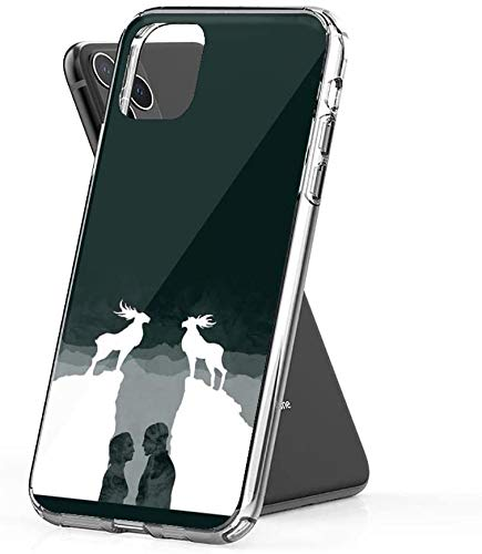 Abold Compatibel voor iPhone Case Kom met mij, vhenan Action TPU Pure Clear Anti-Scratch Cover, iPhone 11 Pro Max