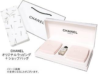CHANEL(シャネル) LES CADEAUX シャネル N゜5ギフトコレクション N゜5 サヴォン(石けん)75g×2 N゜5オープルミエール4ml×1オリジナルラッピング&ショップバッグ付専用ギフトボックス入