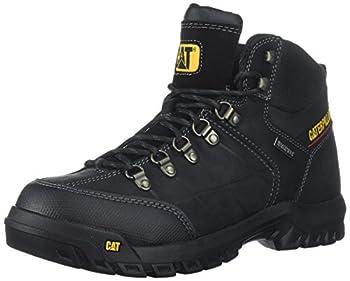 Caterpillar Men s Threshold Waterproof Industrial Boot Black 9 W US