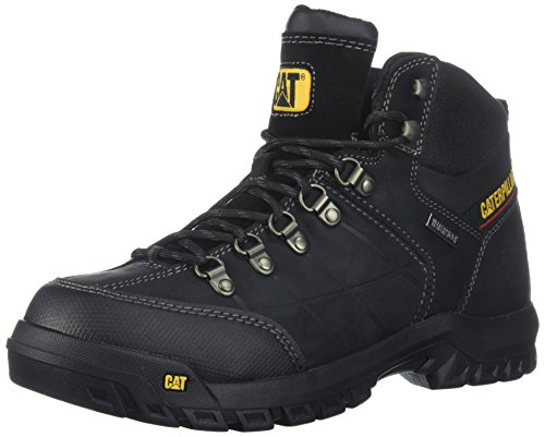 Caterpillar Men's Threshold Waterproof Industrial Boot, Black, 12 M US