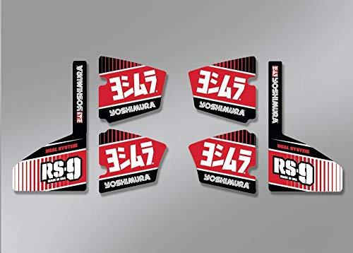 Aufkleber Set Yoshimura RS-9 RS9-NB004 6-Teilig