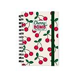 Legami - Agenda Settimanale Spiralata, 12 Mesi, 2021, Small, CHERRY BOMB