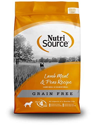 Tuffy's Pet Food 131150 Nutrisource Grain Free Lamb Dry Food For Dogs, 15-Pound