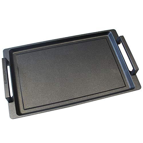 Eurolux Teppanyaki - Plancha de inducción (41 x 24 cm)