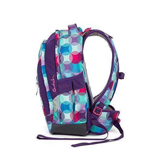 SATCH Hurly Pearly Kinder-Rucksack, 45 cm, Bunte Punkte, SAT-SLE-001-9C0