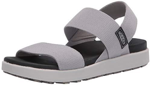 KEEN Women's Elle Backstrap Casual Platform Open Toe Sandal, Drizzle, 8.5