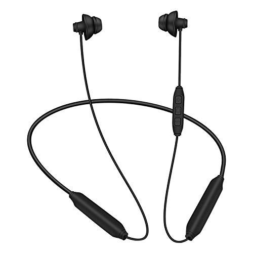 Sleeping Kopfhörer,GOOJODOQ Bluetooth 4.2 Soft In-Ear Noise Cancelling Schlaf-Ohrhörer