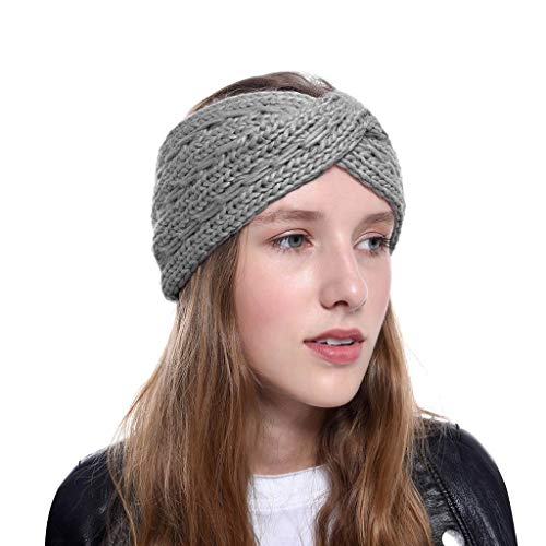Luoluoluo muts dames bont hoofdband wintermuts met knopen hoofddoek vrouwen winter beanie warme gebreide muts meisje Baggy hoed