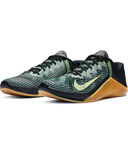 Nike Herren Metcon 6 Straßen-Laufschuh, Black/Limelight-Lime, 44 EU