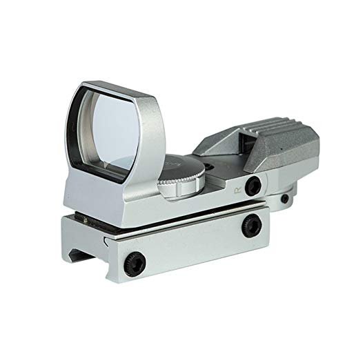 Red Dot Sight,Silver Rifle Scopes for Hunting,Red Dot Sights...