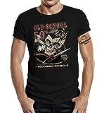 Photo de T-shirt Rockabilly Hot Rod Racer : Old School 50's - Noir - 6 mois
