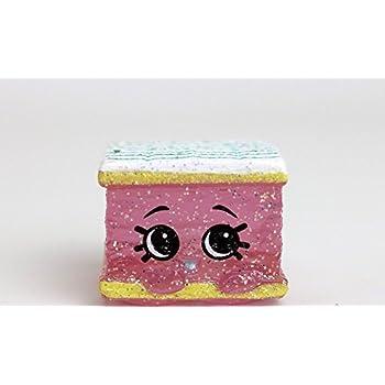 Shopkins Season 4- Food Fair Ultra Rare- Pink | Shopkin.Toys - Image 1