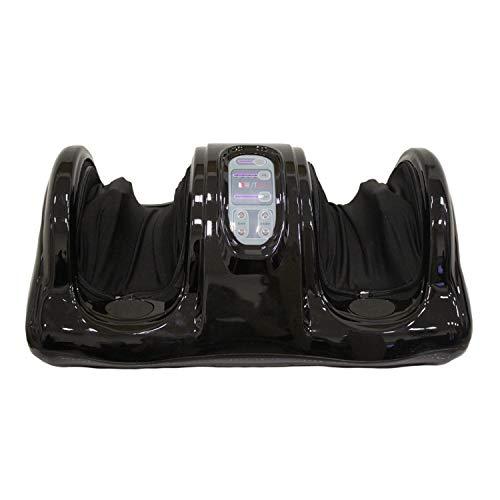 GESS Market GESS RA 341Bliss Shiatsu impasto e roll Mass Age dispositivo per i piedi persoenliches Salute Studio con telecomando, M, Nero