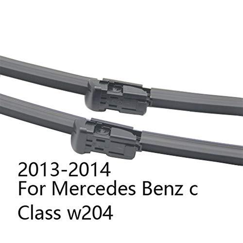 Scheibenwischer Wischerblätter for Mercedes Benz C-Klasse W203 W204 W205 C160 C180 C200 C230 C240 C250 C270 C280 C320 C350 C400 C450 AMG (Color : 2013-2014 for W204)