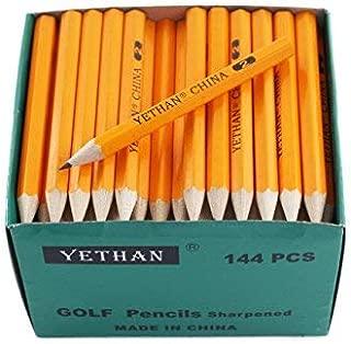 YETHAN Half Pencil, Golf Pencils,3.5