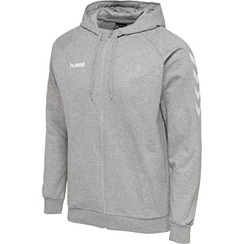 Hummel Herren, Male HMLGO Cotton Zip Hoodie