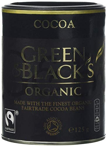 Green and Black's Organic Cocoa 125 g (Pack of 12)